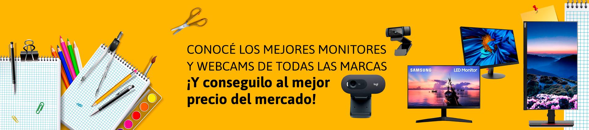Monitores - Webcams