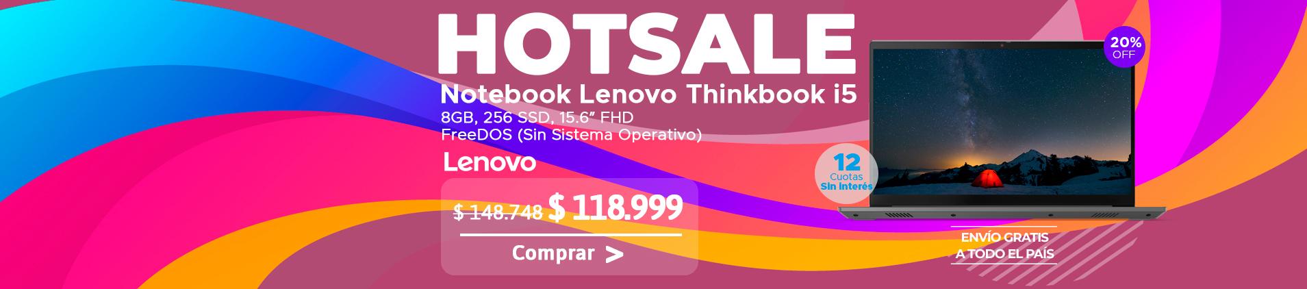 Notebook Lenovo Thinkbook i5